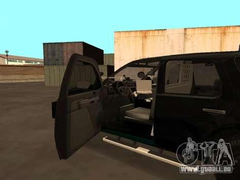 GMC Yukon ATTF für GTA San Andreas obere Ansicht