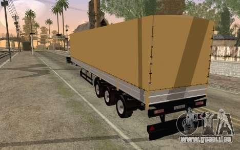 NefAZ von DB2 für GTA San Andreas linke Ansicht