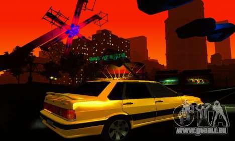 VAZ-2115-Licht-Tuning für GTA San Andreas Seitenansicht