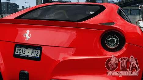 Ferrari F12 Berlinetta 2013 Modified Edition EPM pour GTA 4 est un droit