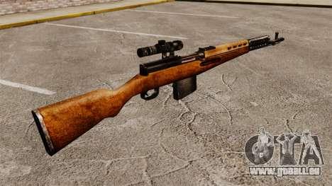 Chargement automatique fusil Tokarev 1940 pour GTA 4 secondes d'écran
