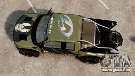 Ford F150 SVT 2011 Raptor Baja [EPM] pour GTA 4 est un droit