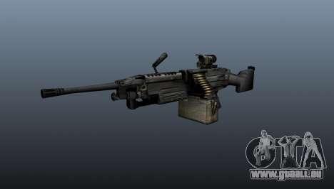 M249 light machine gun pour GTA 4