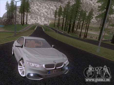 BMW F32 4 series Coupe 2014 pour GTA San Andreas