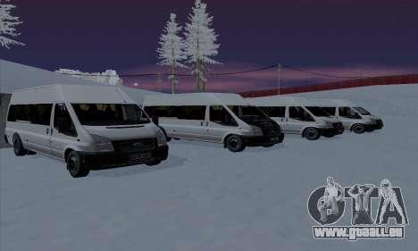 Ford Transit Jumgo für GTA San Andreas Motor