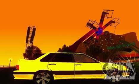 VAZ-2115-Licht-Tuning für GTA San Andreas Rückansicht