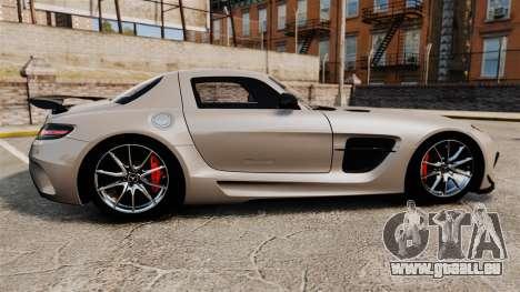 Mercedes-Benz SLS AMG Black Series 2014 pour GTA 4 est une gauche