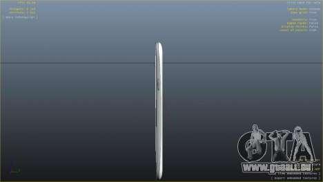 Samsung Galaxy S3 pour GTA 4 sixième écran