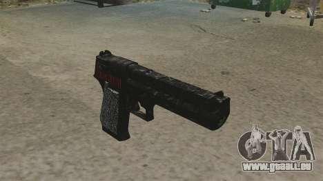 Desert Eagle pistolet Propa Gangsta pour GTA 4