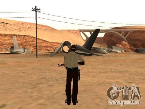 Rick Grimes pour GTA San Andreas troisième écran