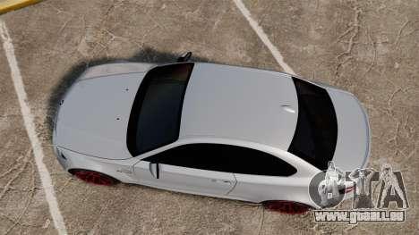BMW 1 M 2011 für GTA 4 rechte Ansicht