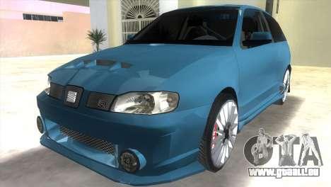Seat Ibiza GT pour GTA Vice City