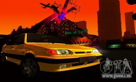 VAZ-2115-Licht-Tuning für GTA San Andreas Innenansicht