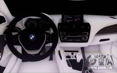 BMW M135i für GTA San Andreas Rückansicht