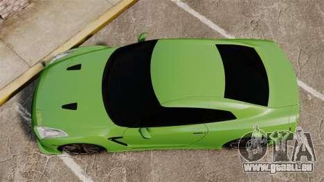 Nissan GT-R SpecV 2010 pour GTA 4 est un droit