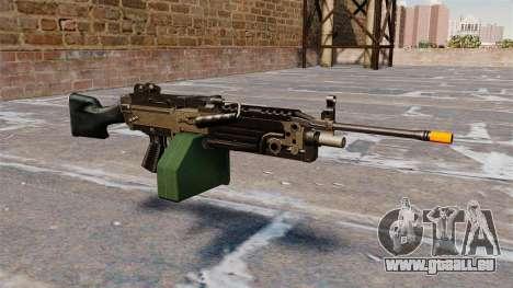 La mitrailleuse légère M249 Airsoft pour GTA 4