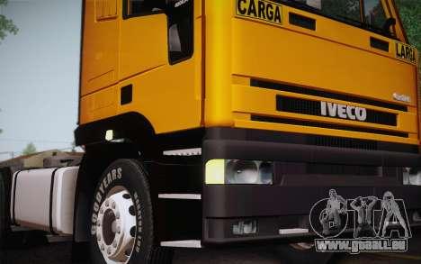 Iveco EuroTech 6x4 Doors für GTA San Andreas rechten Ansicht
