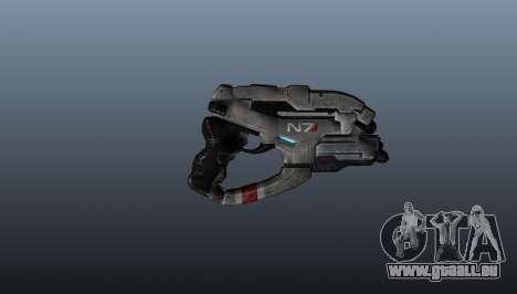 N7 Pistolet d'aigle pour GTA 4 troisième écran
