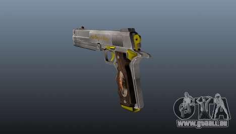 Elfenbein Pistole für GTA 4 Sekunden Bildschirm