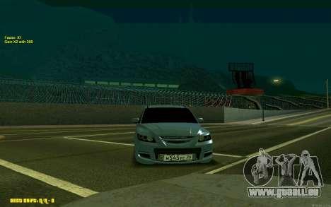 Mazda 3 pour GTA San Andreas vue de droite