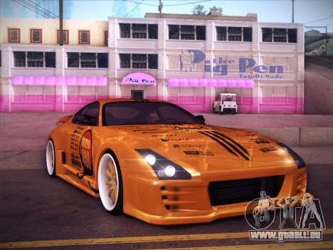 Toyota Supra Top Secret V12 für GTA San Andreas