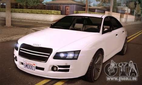 GTA V Tailgater für GTA San Andreas