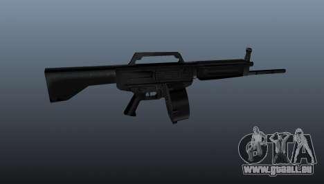 Schrotflinte Daewoo USAS-12 für GTA 4 dritte Screenshot