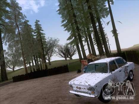 VAZ 21011 Cottage für GTA San Andreas Innenansicht