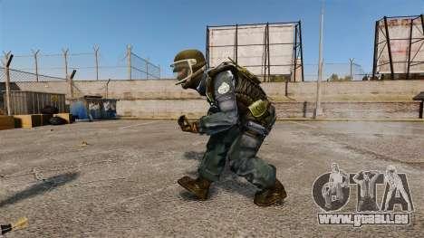 Französisch GIGN commando für GTA 4 Sekunden Bildschirm