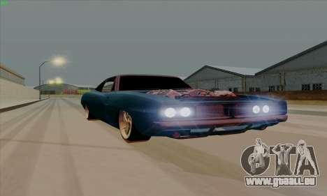 Dodge Charger 1969 Big Muscle für GTA San Andreas linke Ansicht