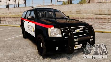 Chevrolet Tahoe 2008 LCPD STL-K Force [ELS] pour GTA 4