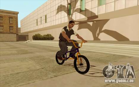 BMX für GTA San Andreas Innen