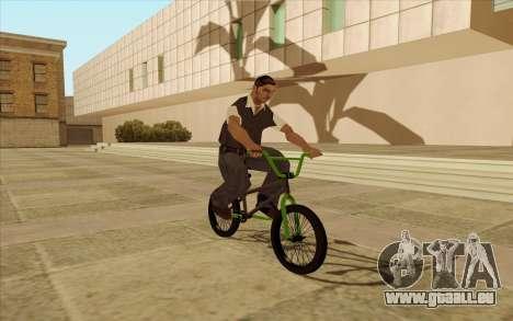 BMX für GTA San Andreas obere Ansicht