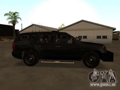 GMC Yukon ATTF für GTA San Andreas linke Ansicht