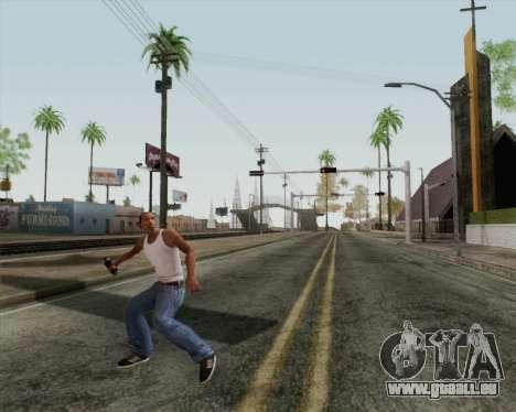 HD-Angriff-Granate für GTA San Andreas dritten Screenshot