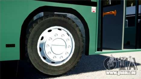 MAZ STRV 103 pour GTA 4 Vue arrière de la gauche