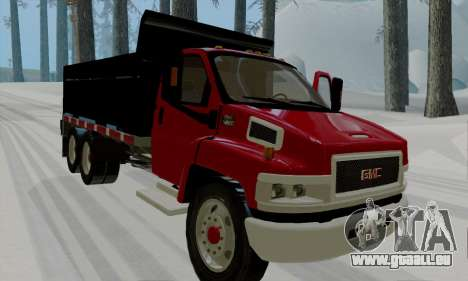 GMC C4500 Topkick pour GTA San Andreas laissé vue