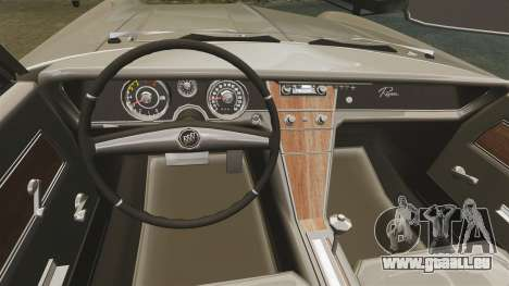 Buick Riviera 1963 pour GTA 4 est une vue de l'intérieur