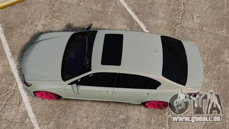 Lexus GS 350 2013 für GTA 4 rechte Ansicht