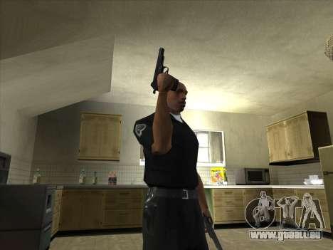 Armes de Pak intérieur pour GTA San Andreas troisième écran