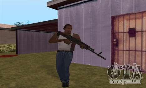 AK-12 für GTA San Andreas achten Screenshot