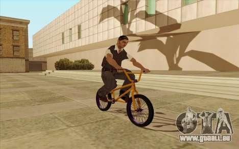 BMX pour GTA San Andreas vue de droite