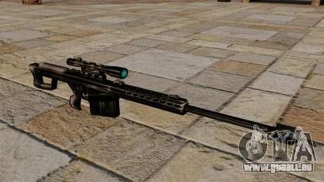 Le fusil de précision Barrett M82 pour GTA 4