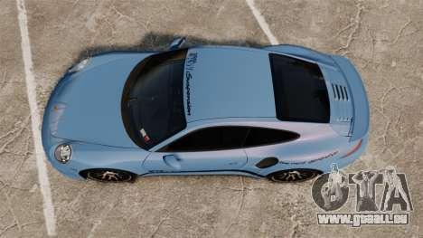 Porsche 911 Turbo 2014 [EPM] KW iSuspension für GTA 4 rechte Ansicht