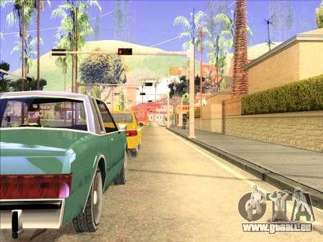 ENB nur Reflexion über Maschinen für GTA San Andreas zweiten Screenshot