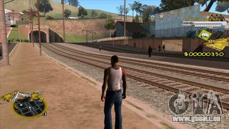 C-HUD Vagos Gang für GTA San Andreas