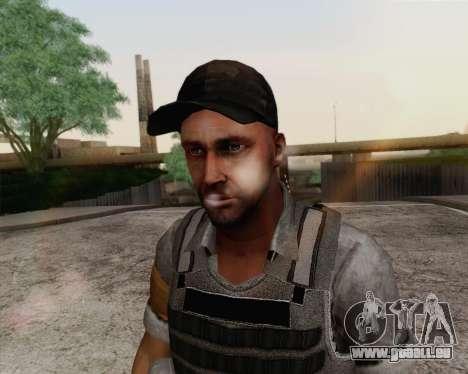 Mercenaire de Far Cry 3 pour GTA San Andreas troisième écran