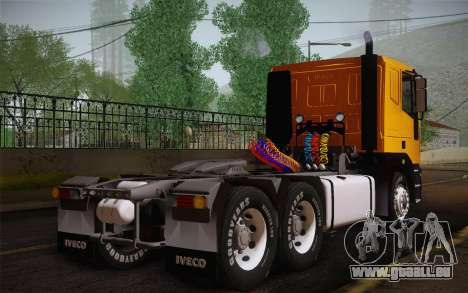 Iveco EuroTech 6x4 Doors pour GTA San Andreas laissé vue