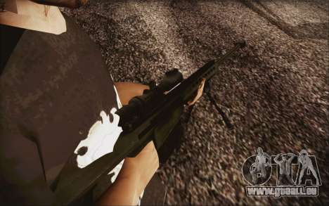 Barrett M82 pour GTA San Andreas deuxième écran