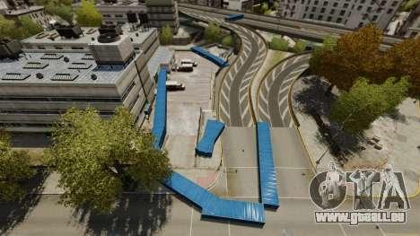Dérive autour de la ville pour GTA 4 cinquième écran